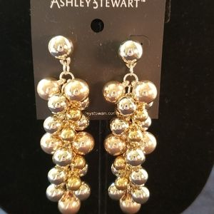 NWT Gold/Silver earrings